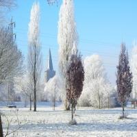 Winter in Schüttorf (Quelle: Gesine Wortelen/ privat)