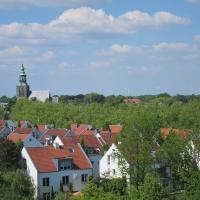 Ausblick über Nordhorn (Quelle: Heike Boll/ privat)