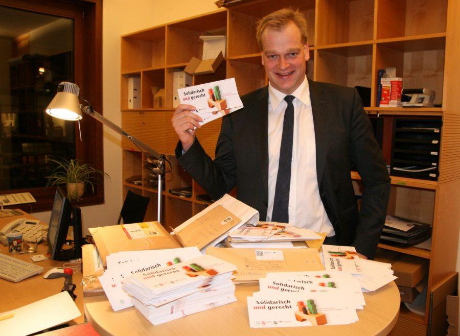 Über 1.000 Zuschriften aus dem Wahlkreis zur Zukunft der Rente