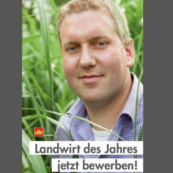 Das Bild zeigt den Georg Frilling, Finalist Kategorie Ackerbau 2015 (Quelle: dlz, CeresAward, eigene Darstellung)