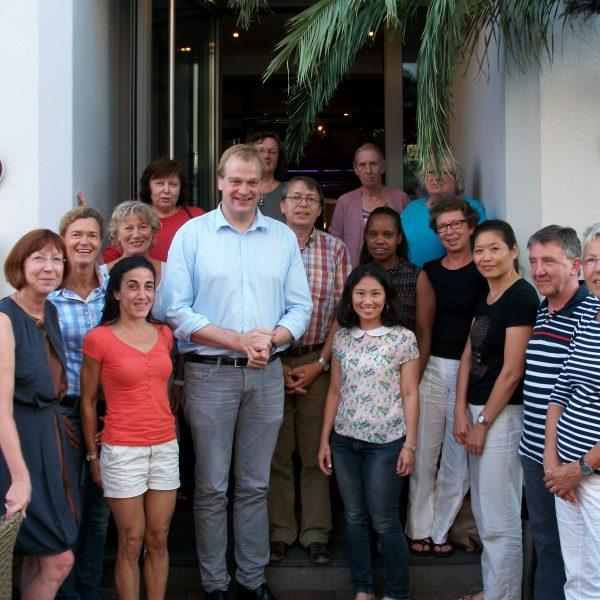Stegemann im Gespräch mit 20 Zugewanderten und Integrationslotsen aus dem südlichem Emsland.