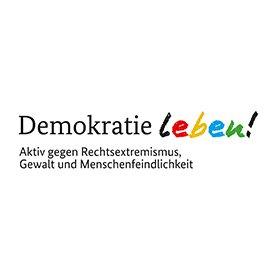"""Demokratie Leben!"" - Copyright BMFSFJ"