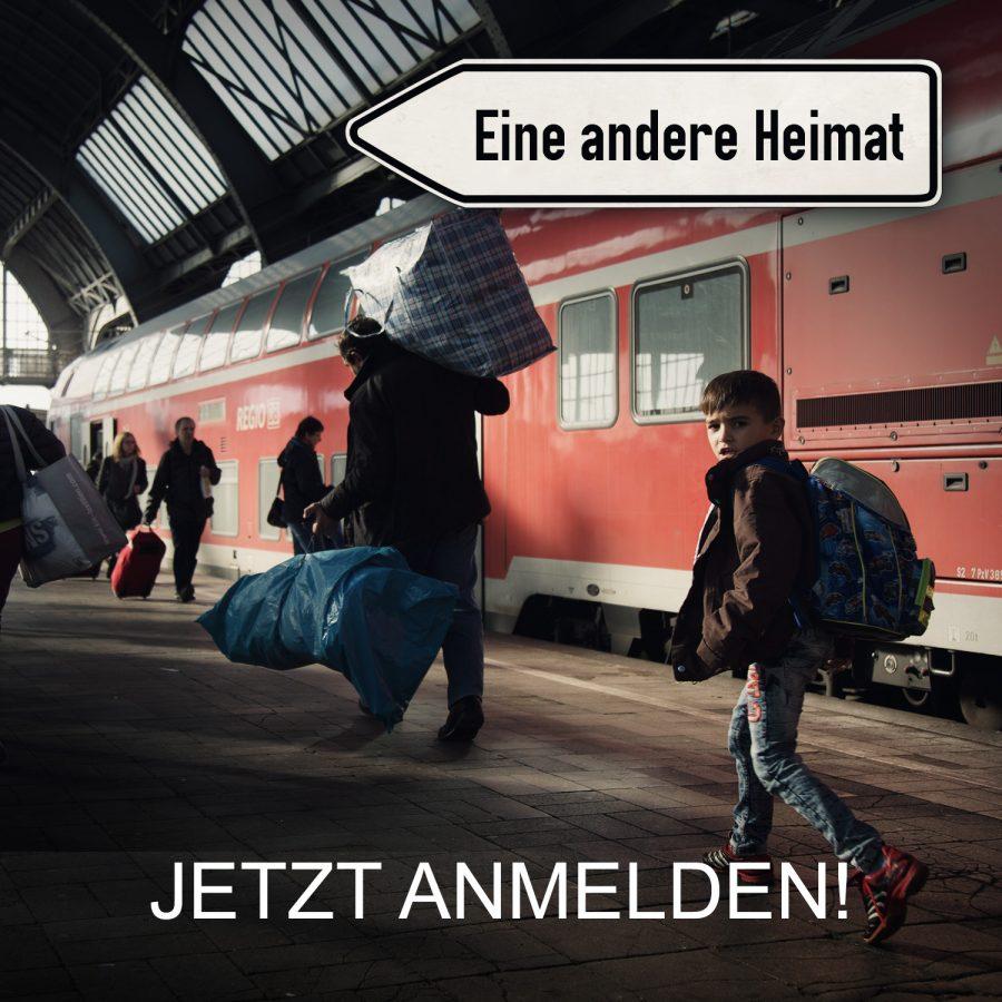 """Bewerbt euch jetzt für den Workshop zum Thema """"Eine andere Heimat"""" vom 24.-30. April 2016 in Berlin !"""