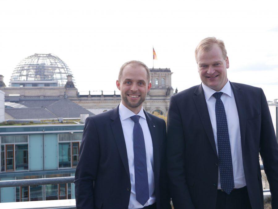 Alfons Veer und Albert Stegemann in Berlin