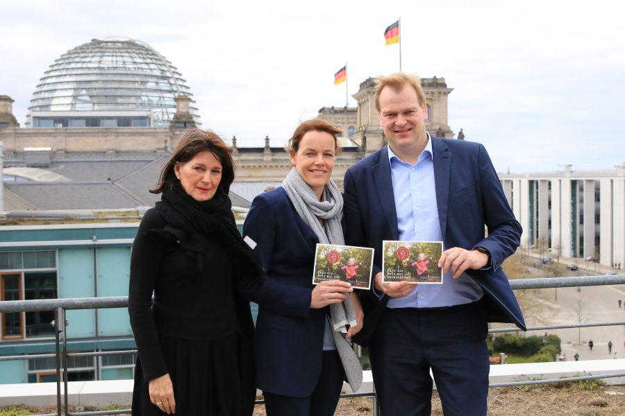 Claudia Potgeter, Dita Büter und Albert Stegemann