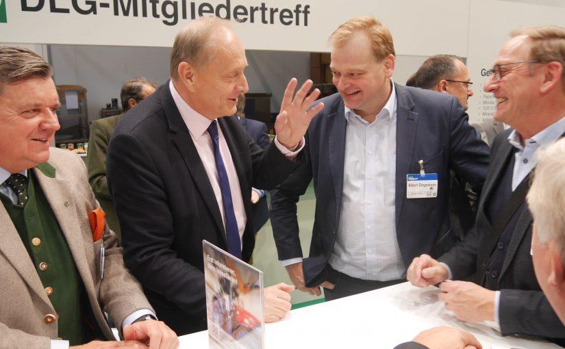 Im Gespräch mit Joachim Rukwied (Präsident DBV)