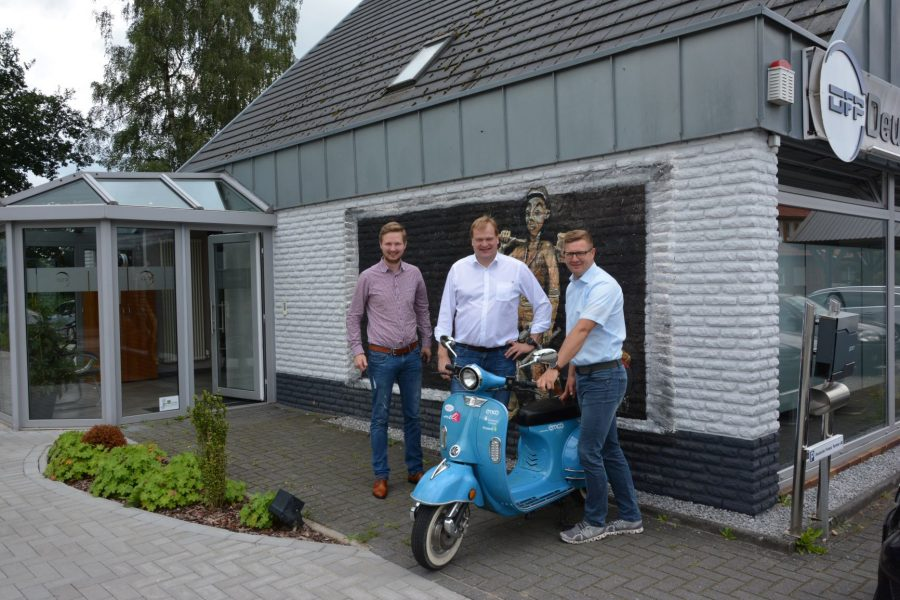 Foto (v.l.n.r.): Johannes Heilemann, Albert Stegemann, MdB und Mirko Lühn